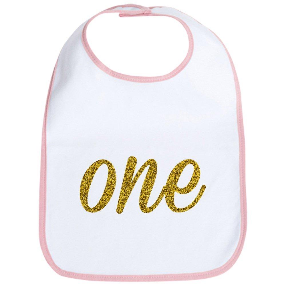 CafePress - One Script Bib - Cute Cloth Baby Bib, Toddler Bib