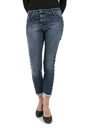 suche nach neuestem billig zu verkaufen Fang Please, P78A, Damen Jeans Hose, Sweatdenim Stretch, Midblue ...