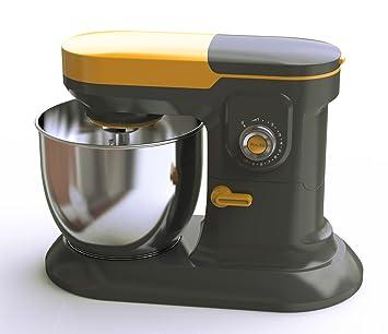 Sinotech GD269 - Batidora amasadora profesional. Robot de cocina con recipiente gigante de 6,5 l para masas de hasta 2 kg, 10 velocidades, ...