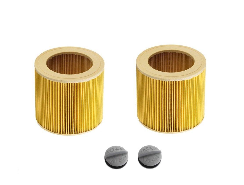 Kga-supplies filtre à cartouche pour Karcher humide et sec aspirateurs Hoover Lot de 2filtres