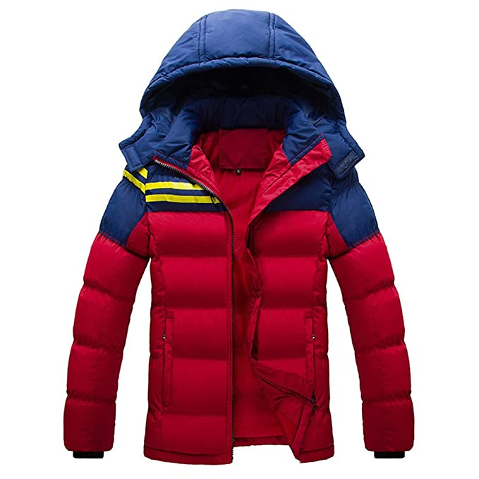 Winter Thick Parka Jacket Men Mens Tickening Warm Down ...