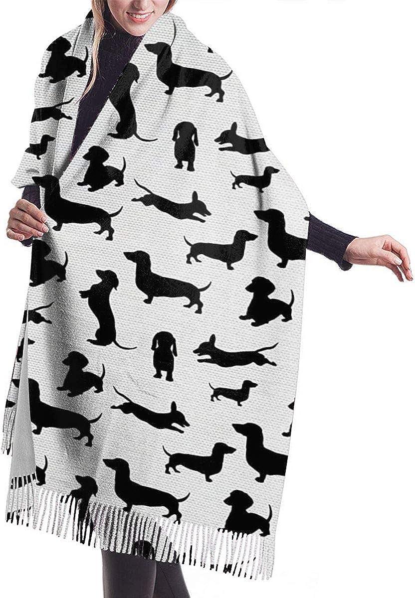 Bufanda Fringe Chal Mujer Fondos de acuarela multicolor Bufanda de invierno de Cálido Grueso Otoño Invierno