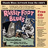 Classic Blues Artwork from the 1920's: 2011 Calendar (+CD)