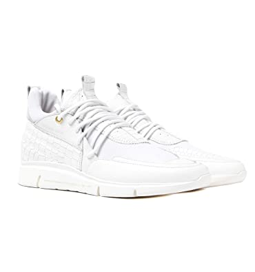 76ed7ebc5fa65 Android Homme Runyon Runner 117 White Leather Trainers-UK 11  Amazon ...