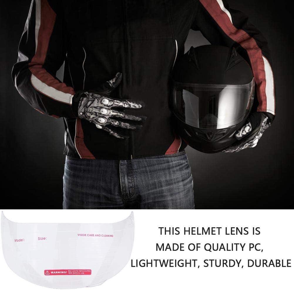 Helmlinse Samfox Motorradhelm Visierlinse Windschutzscheibe Ersatz Für 316 902 Agv K5 K3sv Transparent Auto