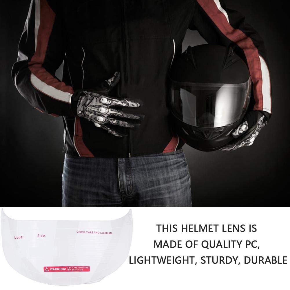 Transparente reemplazo de parabrisas de lente visera de motocicleta para 316 902 AGV K5 K3SV Visera de casco