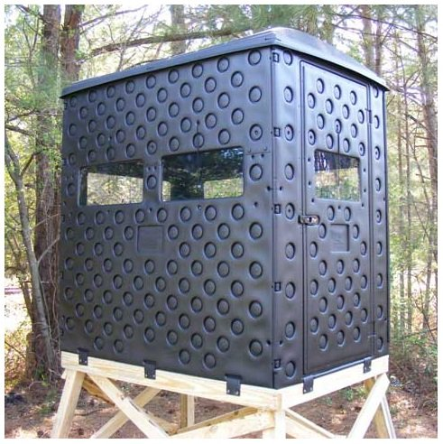 Formex 4' x 6' Snap-Lock Plastic Hunting Blind (Best Ground Blind For Bowhunting)