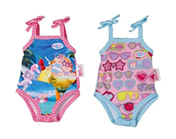 Zapf Creation Baby Born Swimming Costume Collection 821350 Amazon