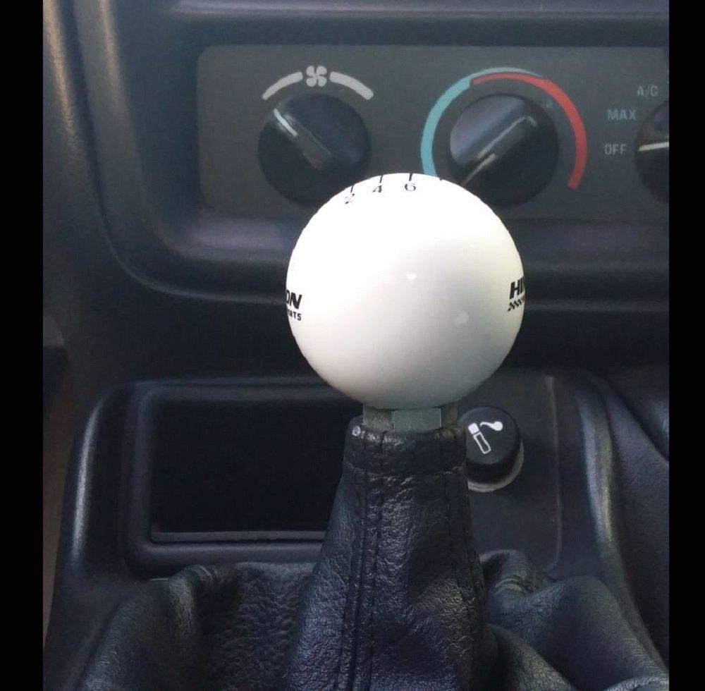 White Shift Ball HINSON F-Body Camaro Firebird Short Throw Shifter T56 Transmission