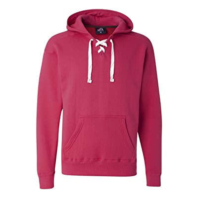 .com : J. America Men's Zen Full Zip Hooded Sweatshirt : Clothing