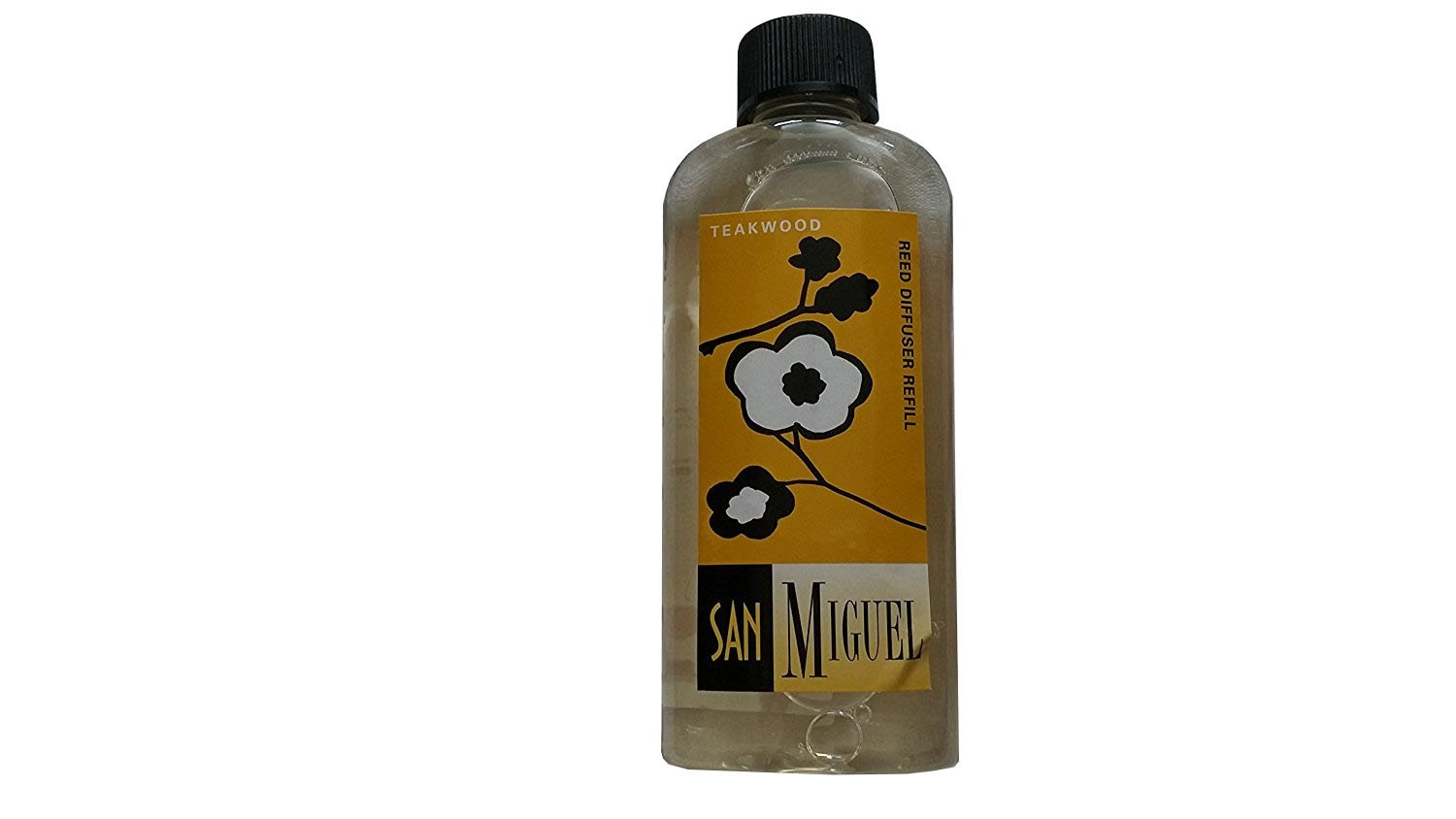 San Miguel 6 Ounce, Liquid Diffuser Refill, Assorted Scents (Teakwood)