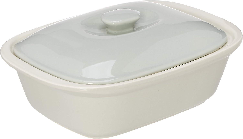 e Regalo Stoneware Rectangular Bakeware Dish with Lid