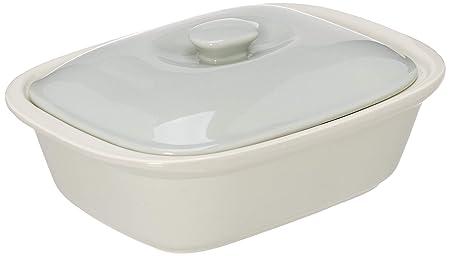 Le Regalo HW1232 - Fuente rectangular para horno con tapa, color ...