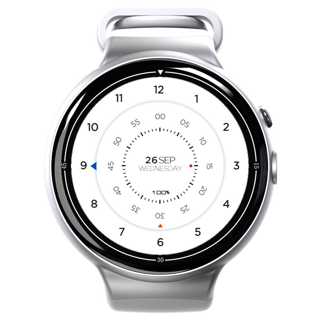 Bluetooth reloj inteligente, i4air 3 G inteligente reloj teléfono ...