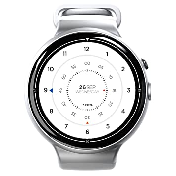 Bluetooth reloj inteligente, i4air 3 G inteligente reloj teléfono MTK 6580, Quad-Core