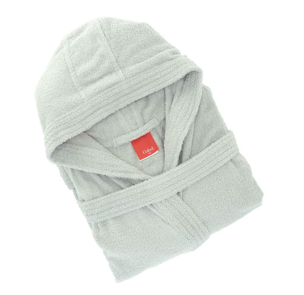 100/% Cotone L Bianco Gabel 09300 10 Accappatoio Adulto