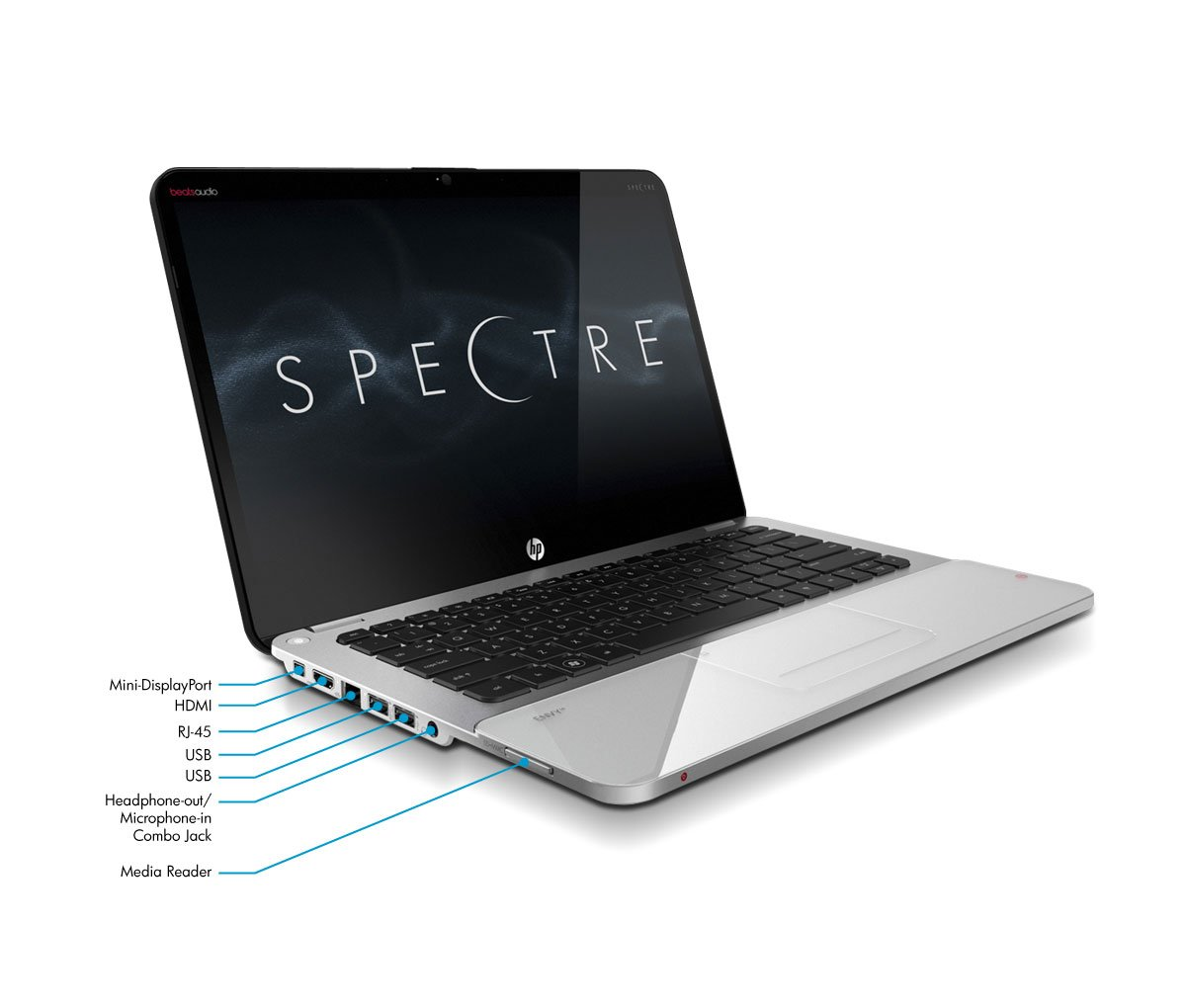 Amazon.com: HP ENVY 14-3010NR Spectre 14-Inch Ultrabook (Silver/Black):  Computers & Accessories