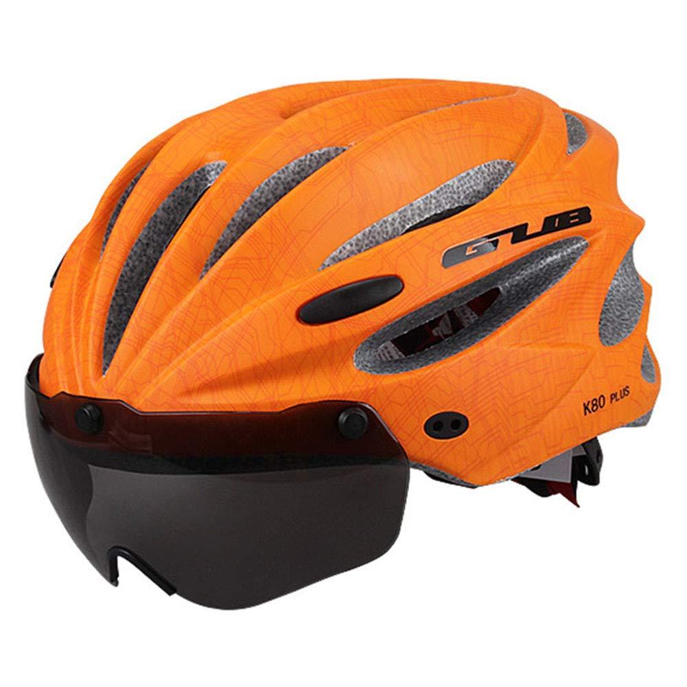 symboat bicicleta bicicleta casco carretera bicicleta de montaña intégralement moldeada con gafas casco ultra-ligero