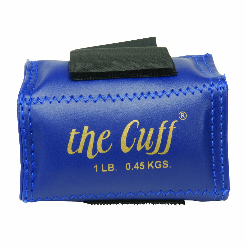Cando 10-0203 Blue Cuff, 1 lbs Weight, For Wrist or Ankle W54087
