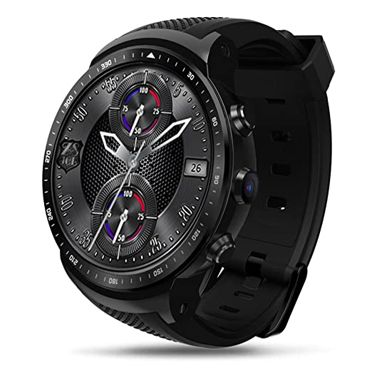 Eulan Zeblaze Thor Pro 3G GPS Bluetooth Smartwatch, Touch Screen ...