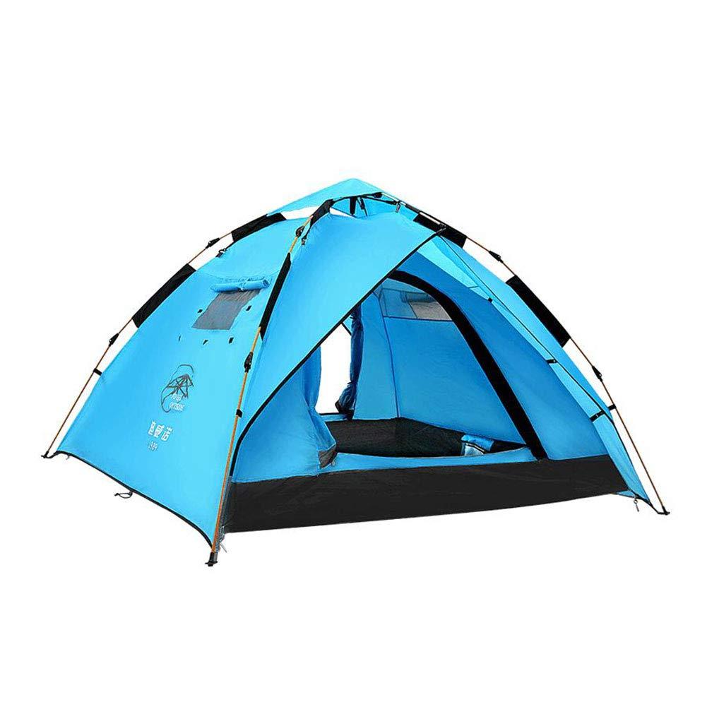 Unbekannt 230  210  140 cm Zelt Im Freien Zelt Blau Automatische Pop-up Zelt Wasserdichte Sonnencreme Outdoor Camping Zelt