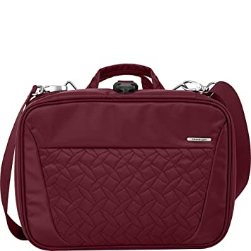 Travelon Total Toiletry Kit Berry Quilted