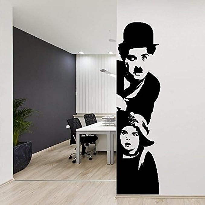 Cuban poster.CHARLES CHAPLIN wheels.Fun Decor.Fun Art.Home interior wall design