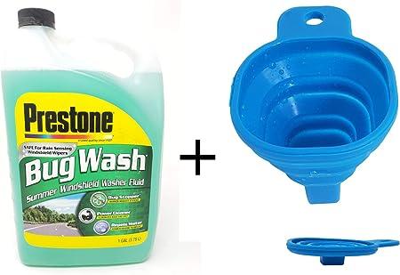 Amazon.com: Prestone Bug Wash – Líquido limpiador de ...
