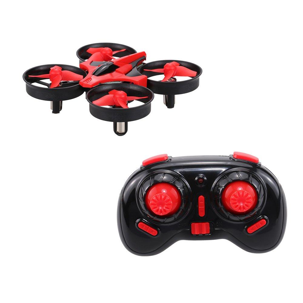 Anti Crush UFO RC Quadcopter H//L Speed One Key Return Headless Mode Full Protectors GoolRC Mini Drone with 3D Flips