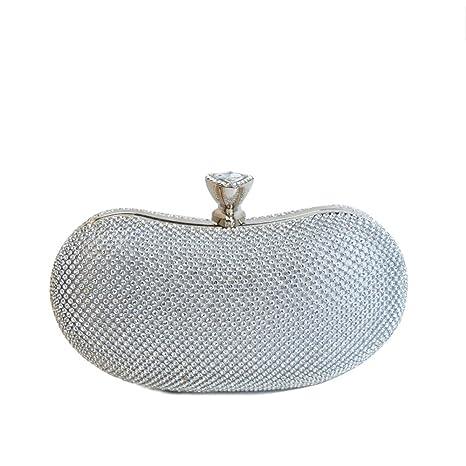 Pranzo Diamanti Wuhx Con A Spalla Forma Di Diamante Tracolla Ovale Borsa Da EIqFB