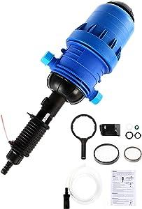 BEAMNOVA 0.4%-4% Adjustable Fertilizer Injector Automatic Liquid Dosing Pump Dispenser for Drip Irrigation System Garden Tool