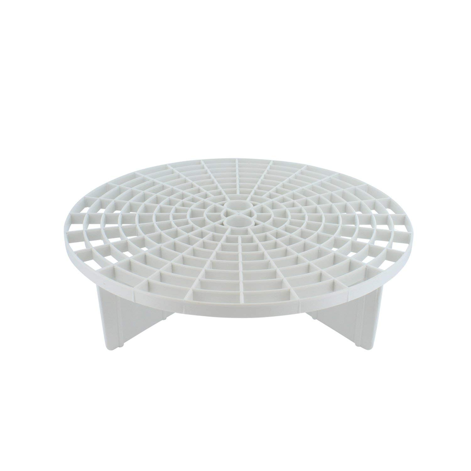Grit Guard Bucket Insert (White) with Black Washboard