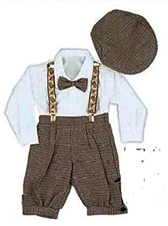 f0326bf12811 Amazon.com  Just Darling Infant   Toddler Boys Vintage Style ...