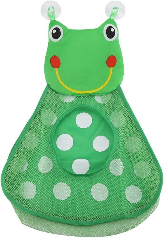 Kinder Badespielzeug Netzkorb Little Frog 36/x 50/Badezimmer Badewanne Storage Mesh Tasche mit 2/strapazierf/ähigen Saugn/äpfe Zerodis Baby Dusche Organizer