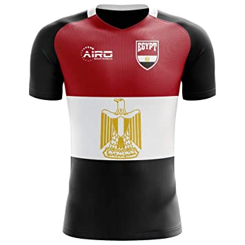 e35aa8b30f2 Image Unavailable. Image not available for. Color  Airo Sportswear 2018-2019  Egypt Flag Concept Football Soccer T-Shirt ...