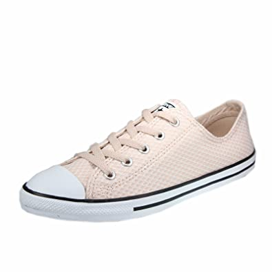 34083a2cfe38 Converse Women s Chuck Taylor CTAS Dainty Ox Textile Fitness Shoes ...