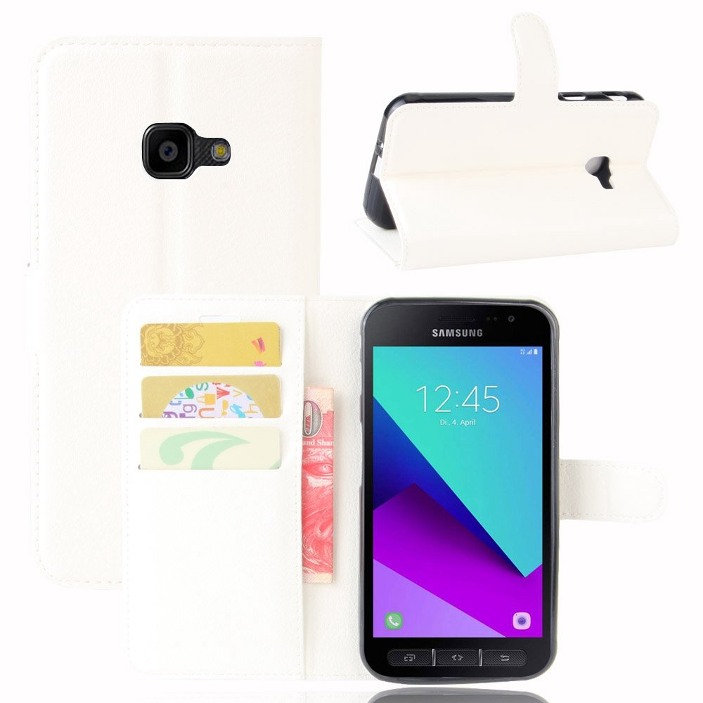 Guran® Funda de Cuero PU Para Samsung Galaxy Xcover 4 (G390F ...
