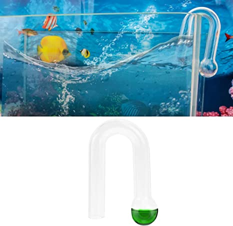 CO2 Glass Drop Checker With Real Time Test Kit 4dKH+Reagent USA Free Shipping
