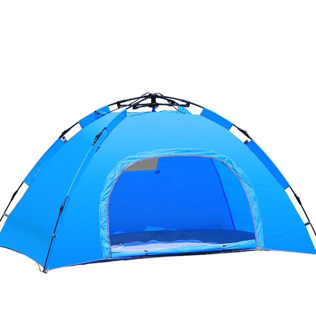 Zelt Vollautomatische Zelte Geschwindigkeit offen Leichte Outdoor 3-4 Personen Set Familie Regen Doppel 2 Personen Campingplatz