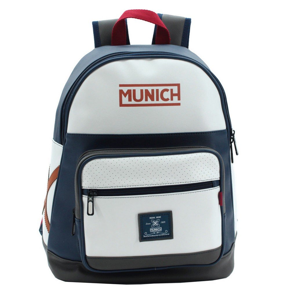 Munich Retro Mochila Tipo Casual, 16.93 litros, Color Negro: Amazon.es: Equipaje