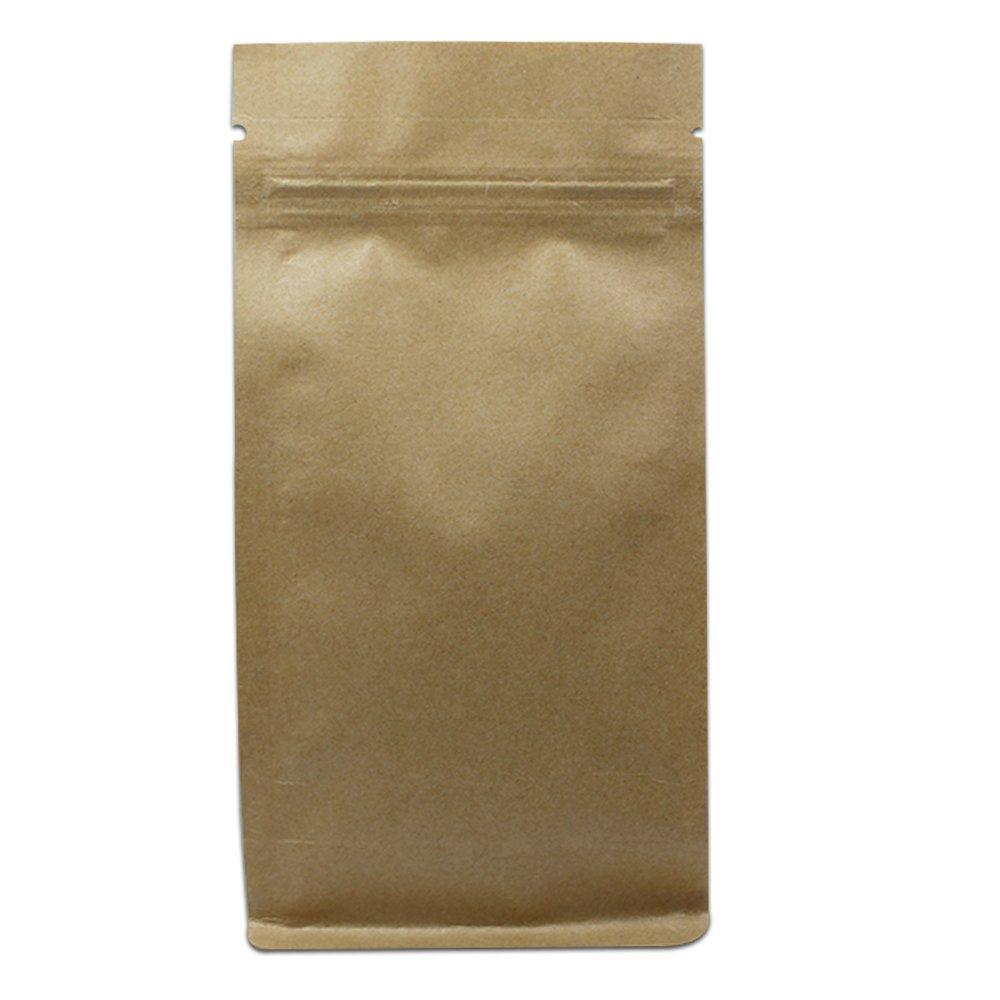 55%以上節約 クラフトペーパー素材ジッパー開閉スタンドUpポーチブラウンstand-upセルフシーリング食品ストレージ組織セットパッケージバッグ板紙Reusable Grocery Bags with Notch 3.9x7.9+2.4 inch inch inch ブラウン B077ZT6Z38 3.9x7.9+2.4 3.9x7.9+2.4 inch 3.9x7.9+2.4 inch|200, ベクトル新見店:21014f3c --- rarspoliplas.com
