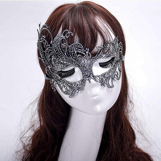Máscara de disfraces de encaje, máscara de estilo veneciano ...