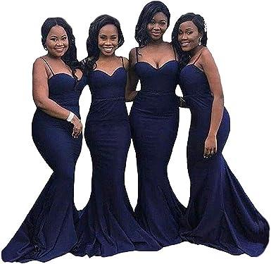 Navy Blue Formal Evening Dresses