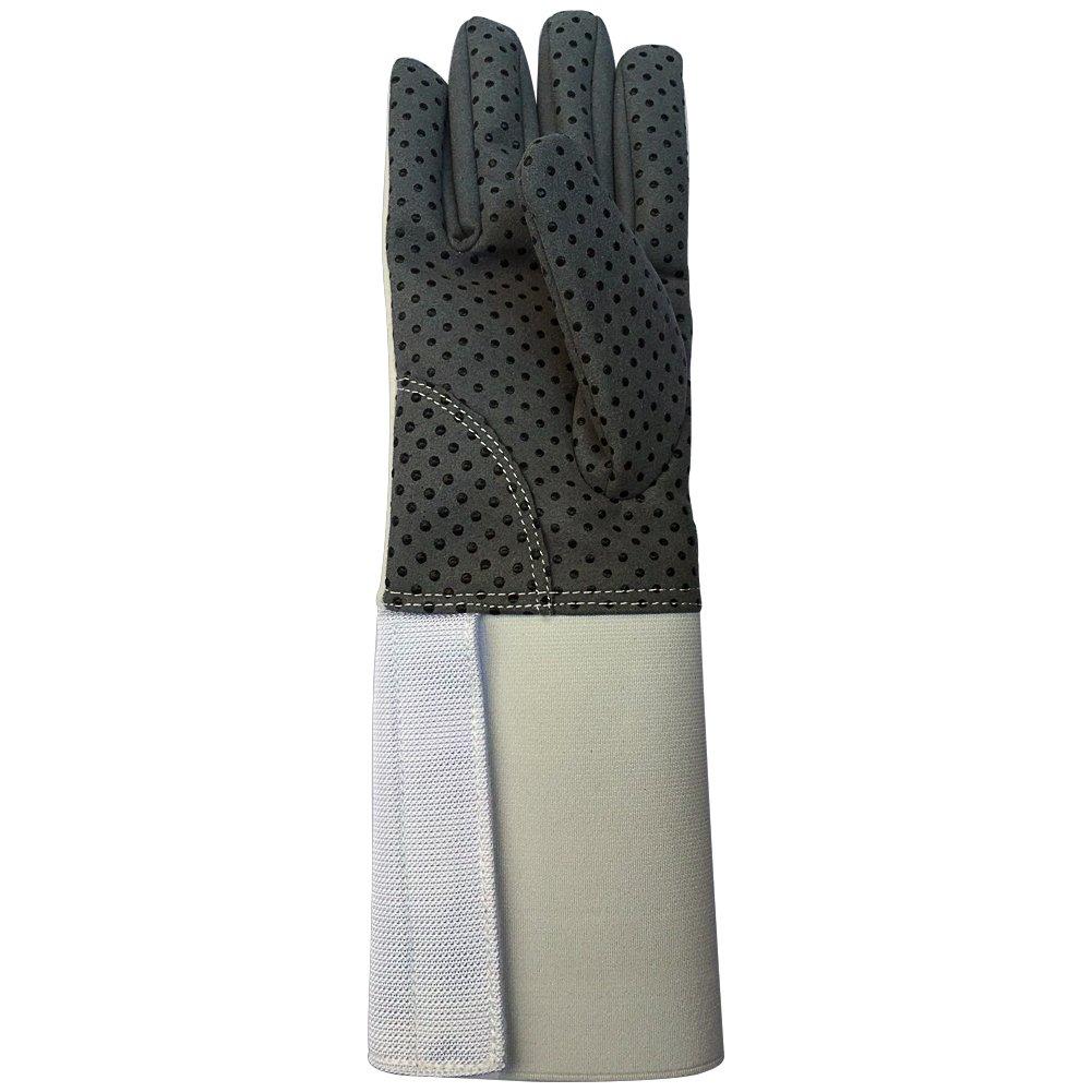 HANSHI Fechthandschuh aus Leder.Ritterhandschuh.Mittelalterlicher Stulpenhandschuh.Zwei Arten für Kinder und für Trainer.HCT07