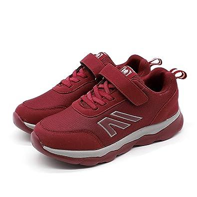 Unisex Sportschuhe Damen Laufschuhe mit Klettverschluss Outdoor Sneakers  Herren Light Atmungsaktiv Hallenschuhe Freizeit Fitness Schuhe 11c2e87897