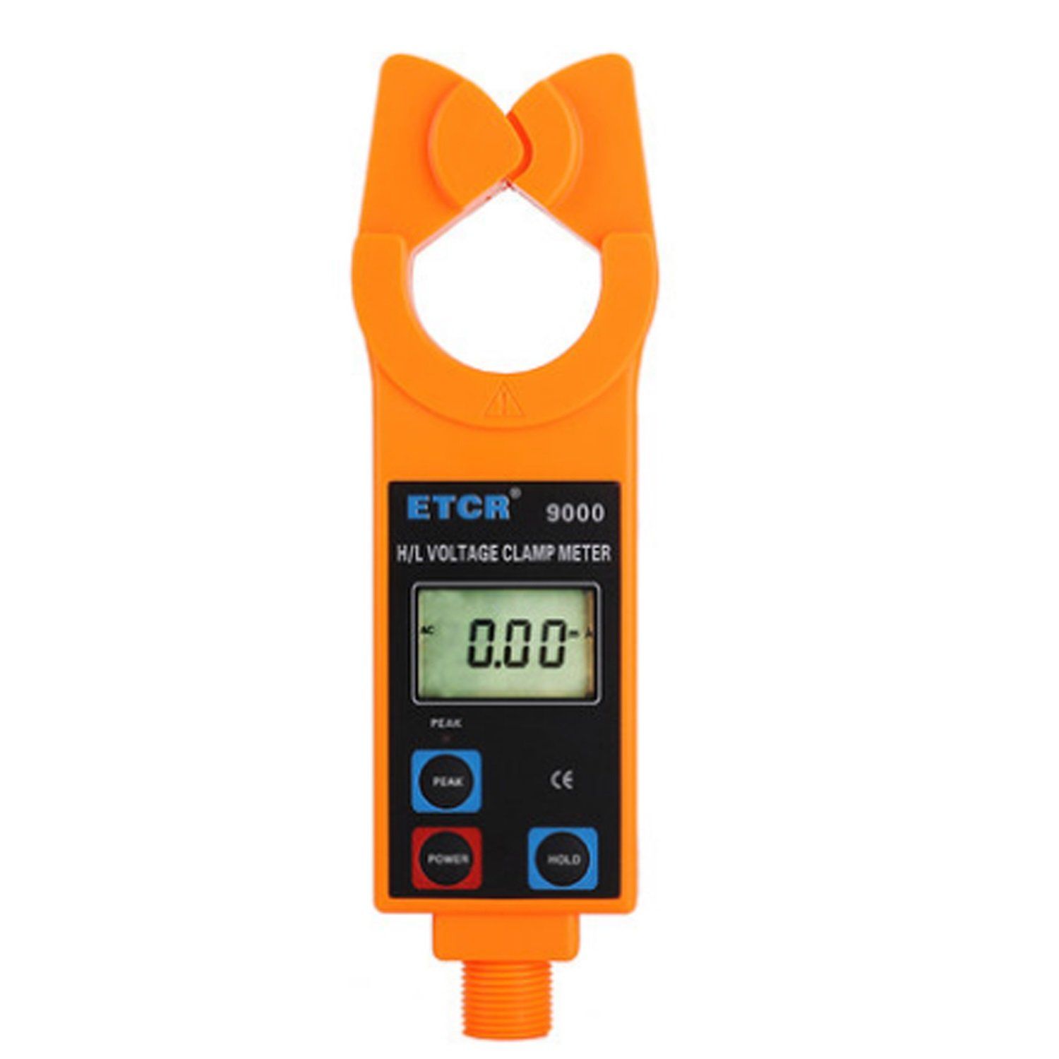 Lanlanmaoyimg Ammeter Online AC Current Monitor High/Low Voltage Digital Ammeter with AC Leakage Current Clamp Meter ETCR9000 Precision Measurement