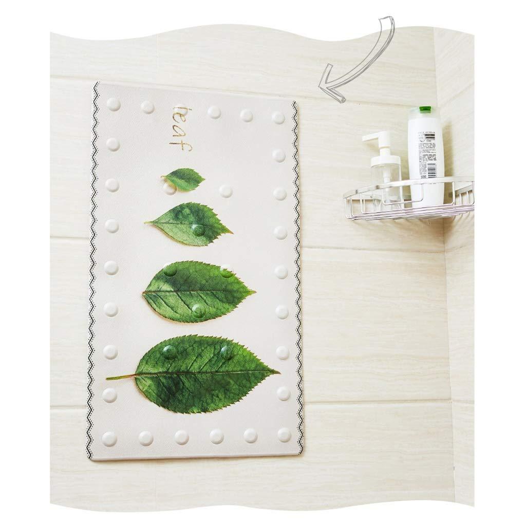 Bath mats antiscivolo Absorbent Floor Mat Stitching Shower Room Bathing Water Plastic Foot mat (Color : K-40X70cm)