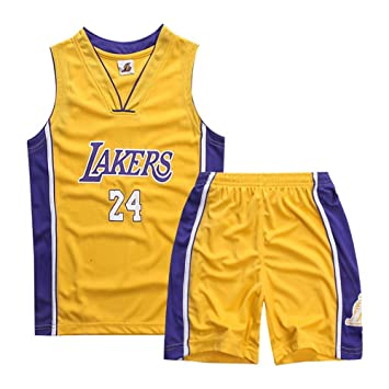 ZAIYI-Jersey Ropa de baloncesto for niños - Pantalones cortos de ...