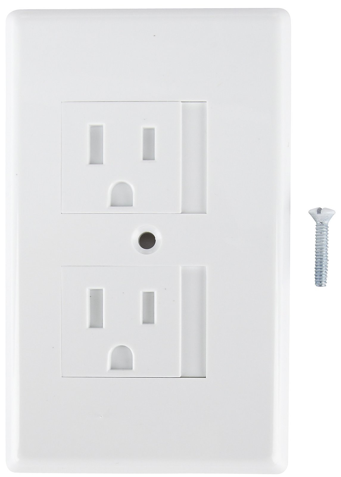Mommy's Helper 36 Pack Bulk Safe Plate Electrical Outlet Covers Standard, White