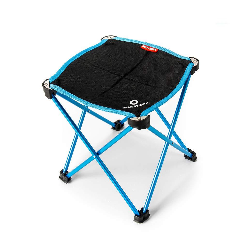 UUNITONA Camping Chair Outdoor Tripod Folding Stable Stool Camping Backpacking Hiking Fishing BBQ Seat Oxford Cloth Easy to Disassemble UUNITONA Ltd.